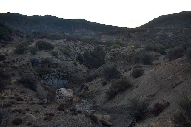 layered rocks eroded
