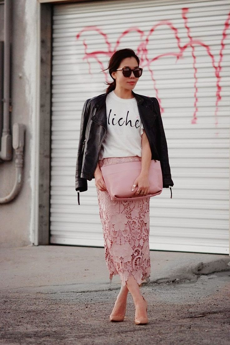 [Trend] Lace Pencil Skirts | South Molton St Style