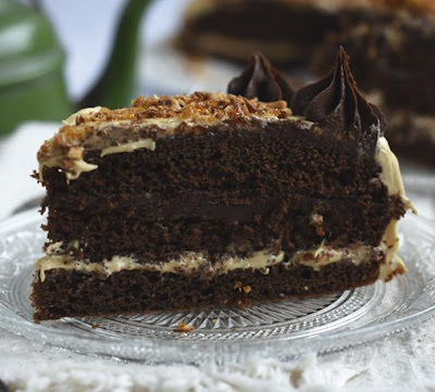 Receta de Torta Moka con chocolate Bitter