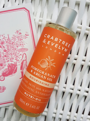 Crabtree & Evelyn Pomegranate & Argan Oil Nutri-Oil
