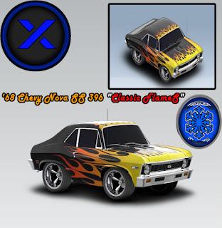 Chevrolet Nova SS 396 1968 - Classic Flames - Cartown ...