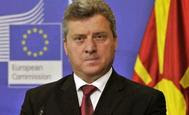 o πρόεδρος της Δημοκρατίας της ΠΓΔΜ, Γκιόργκι Ιβάνοφ