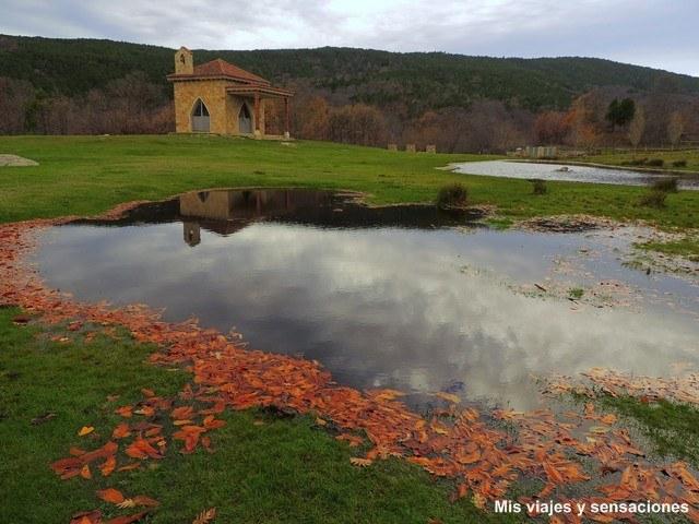 Área recreativa las Eras del Prado y la ermita de San Isidro, Casillas, Valle del Tietar, Sierra de Gredos