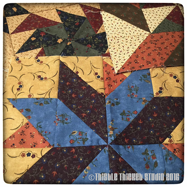 Thistle Thicket Studio, Kansas Troubles Fabric,