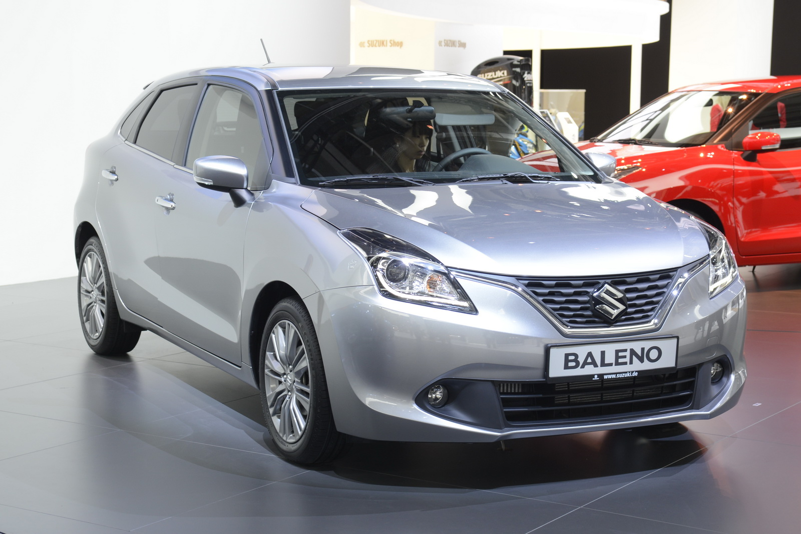 suzuki to bring new 2017 baleno at geneva motor show carscoops. Black Bedroom Furniture Sets. Home Design Ideas