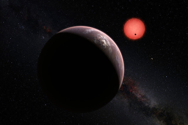 Trappist-1d in Nasa's virtual 3d tour