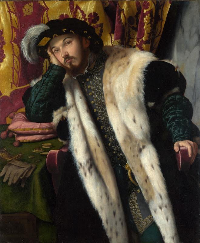 Moretto da Brescia - Portrait of a Young Man