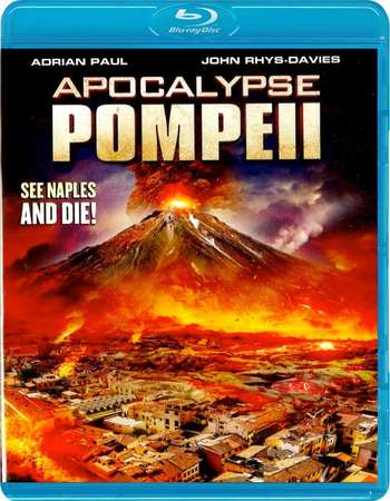 Poster Of Apocalypse Pompeii 2014 Dual Audio 720p BRRip [Hindi - English] Free Download Watch Online