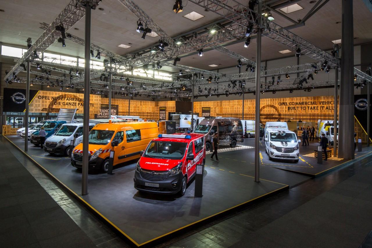 Η Opel στην Έκθεση Επαγγελματικών Οχημάτων (IAA)
