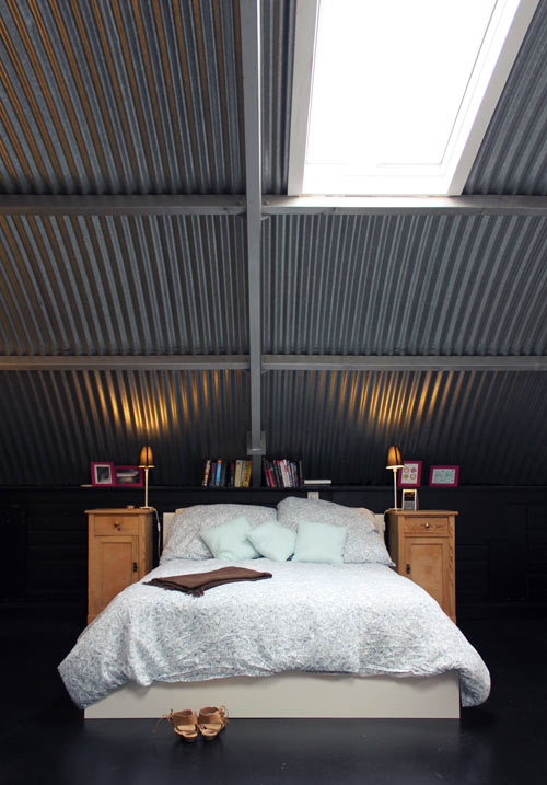 The Gentry Joint Project Corrugated Steel Ceilings
