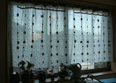 昭和レトロなカーテン