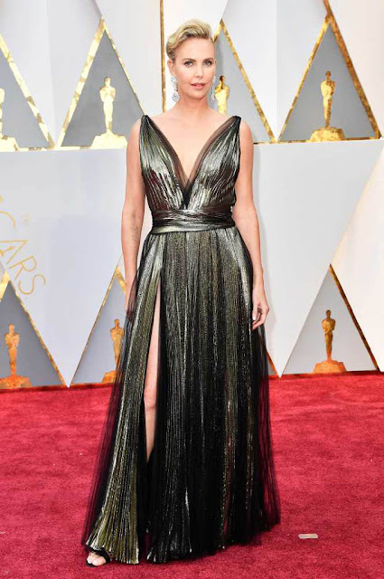 Charlize Theron at 89th Annual Academy Awards