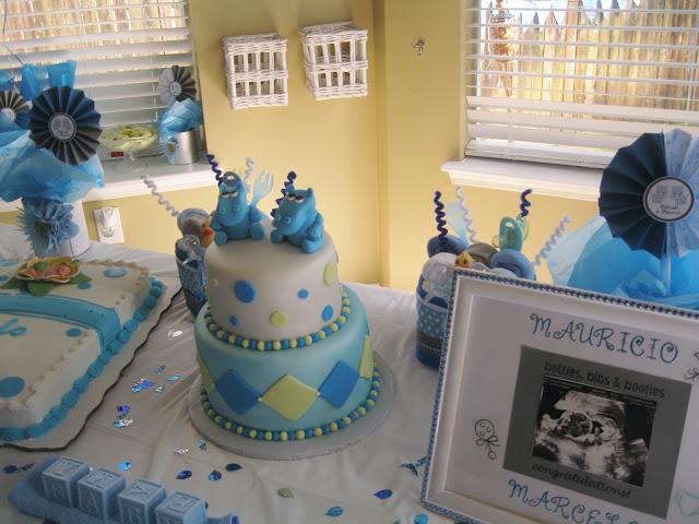 PolkaDots & Monkeys Diaper Cakes ~ Party Planner ...