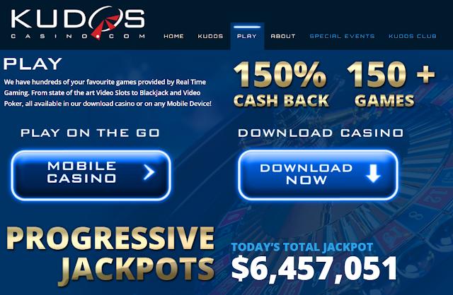Kudos Casino Cashback Offers