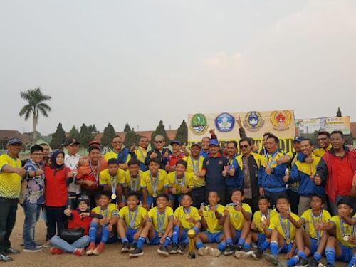 Kota Bandung Juara GSI SMP se Jawa Barat 2018