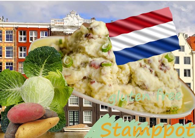 Purée de chou et pommes de terre Pays Bas, sans gluten, vegan