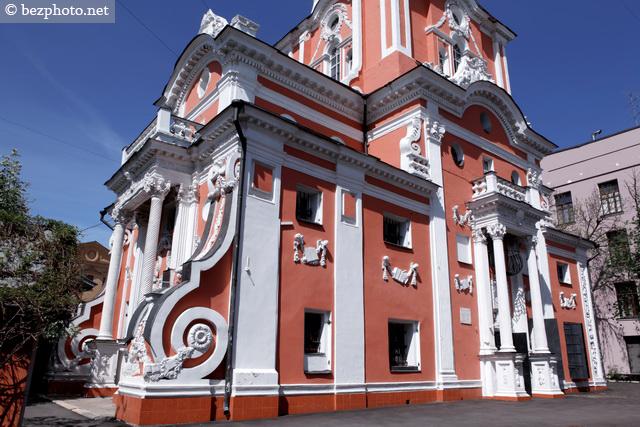 московский стиль барокко