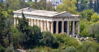 Ágora Antigua de Atenas, Templo de Hefesto o Hefestión.