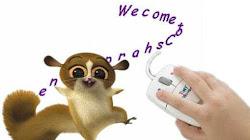 Hiệu ứng xoay văn bản theo trỏ chuột cho blogspot