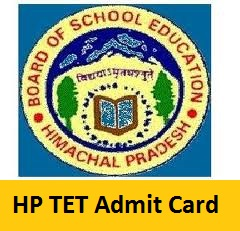 HP TET Admit Card
