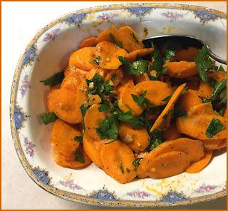 Katie Lee's Moroccan Carrots