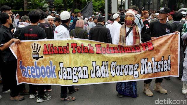 Di Ultimatum FPI 3x24 Jam, Ini Jawaban Santai Facebook Indonesia