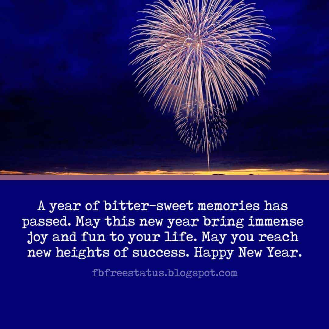 Wishes for New Year, Quotes, Messages, Greeting and New Year Wishes Images.
