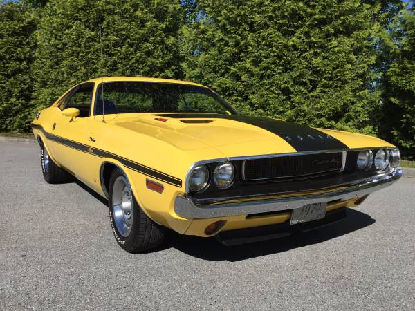 A True Muscle Car, 1970 Challenger R/T 440