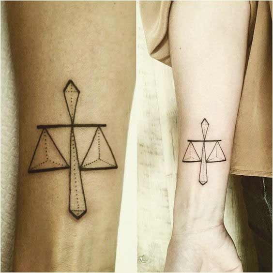 8e62a14c09e5f 50 Amazing Libra Tattoos Designs And Ideas For Men And Women