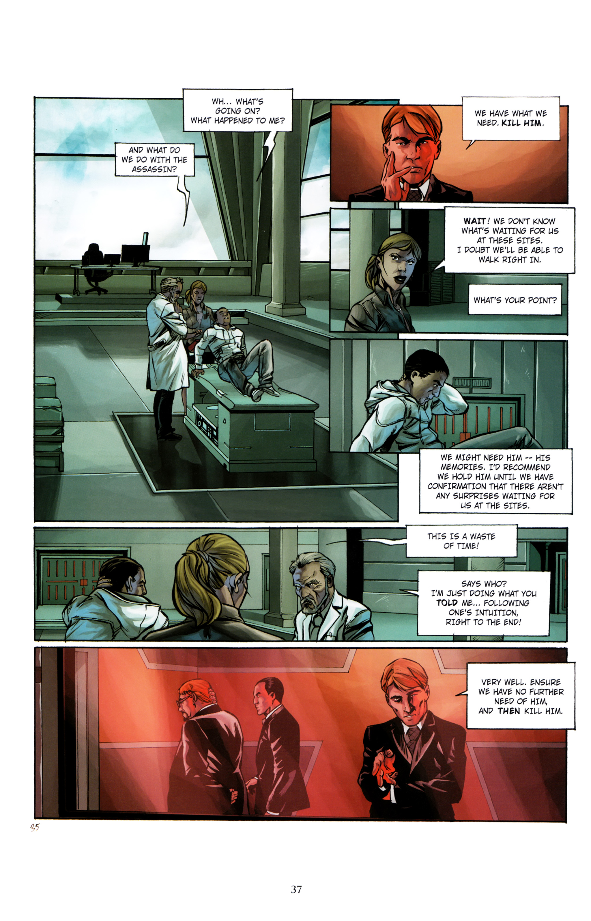 Read online Assassin's Creed (2012) comic -  Issue #1 - 41