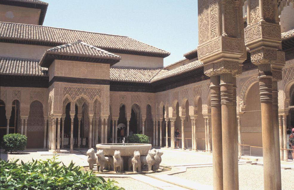 Baños Griegos Antiguos:La Alhambra de Granada, uno de los mayores exponentes del arte