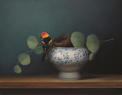bird still life