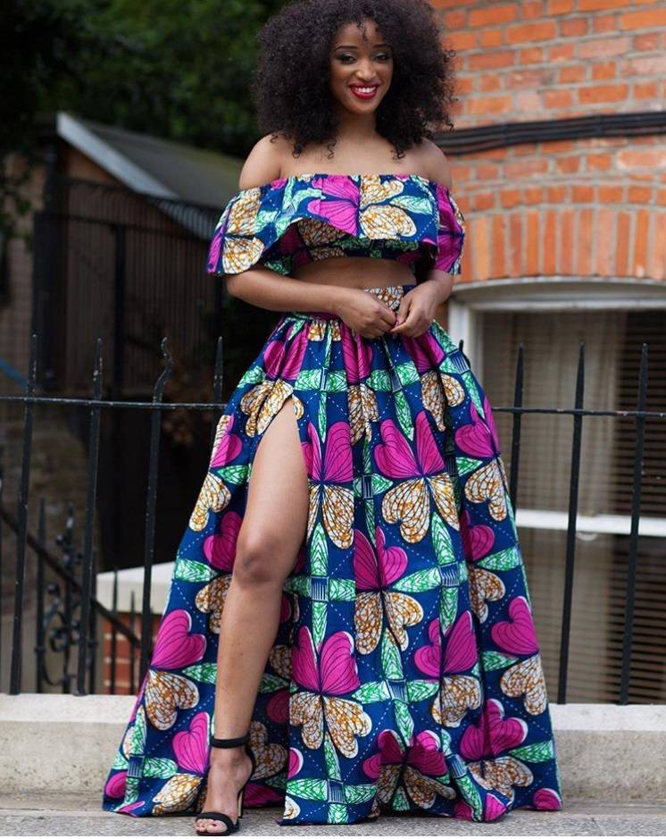 Trend Alert The Ankara Off The Shoulder Top The Style Hive