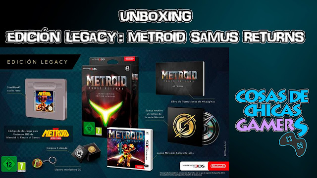 Unboxing Edición legacy samus returns