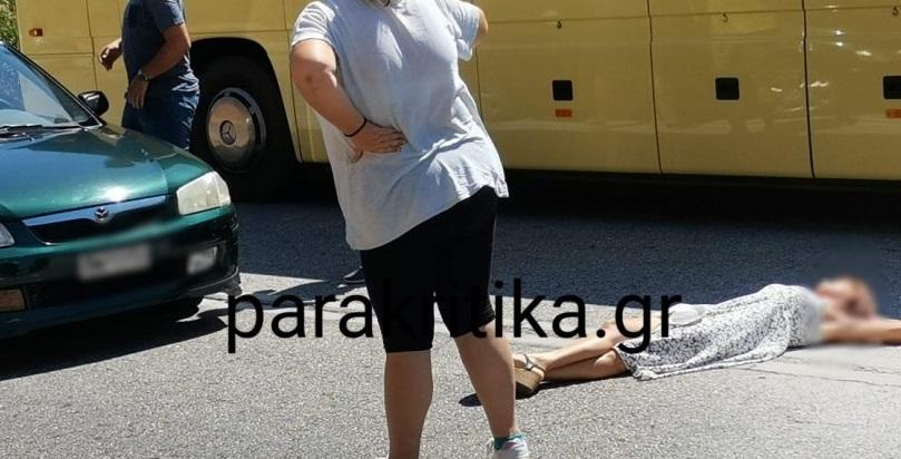 Κρήτη: Γυναίκα έκοψε την κυκλοφορία και ξάπλωσε στην μέση του δρόμου