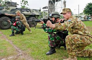 Kerja Sama Pelatihan Militer