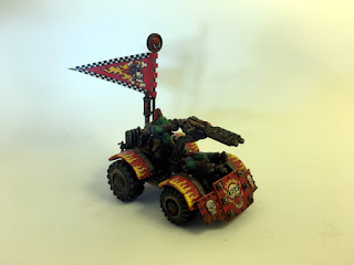 2nd Edition Ork War Buggy - Right