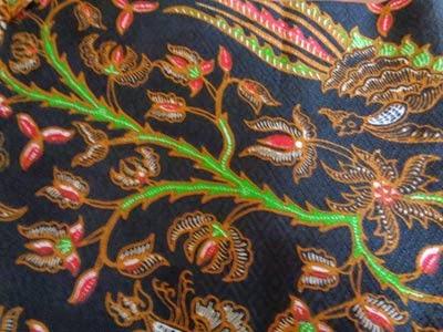 Seragam Batik Solo Printing Motif A15