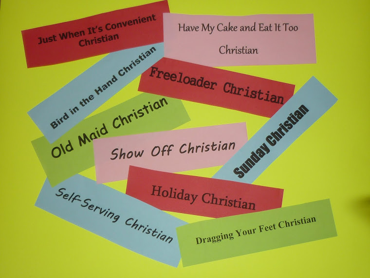 Types of Christians Blog