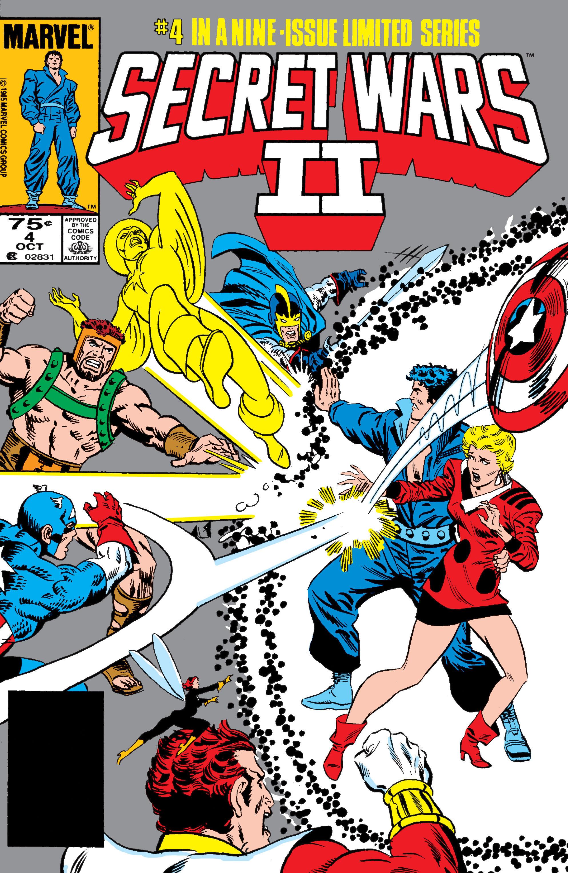 Read online Secret Wars II comic -  Issue #4 - 1