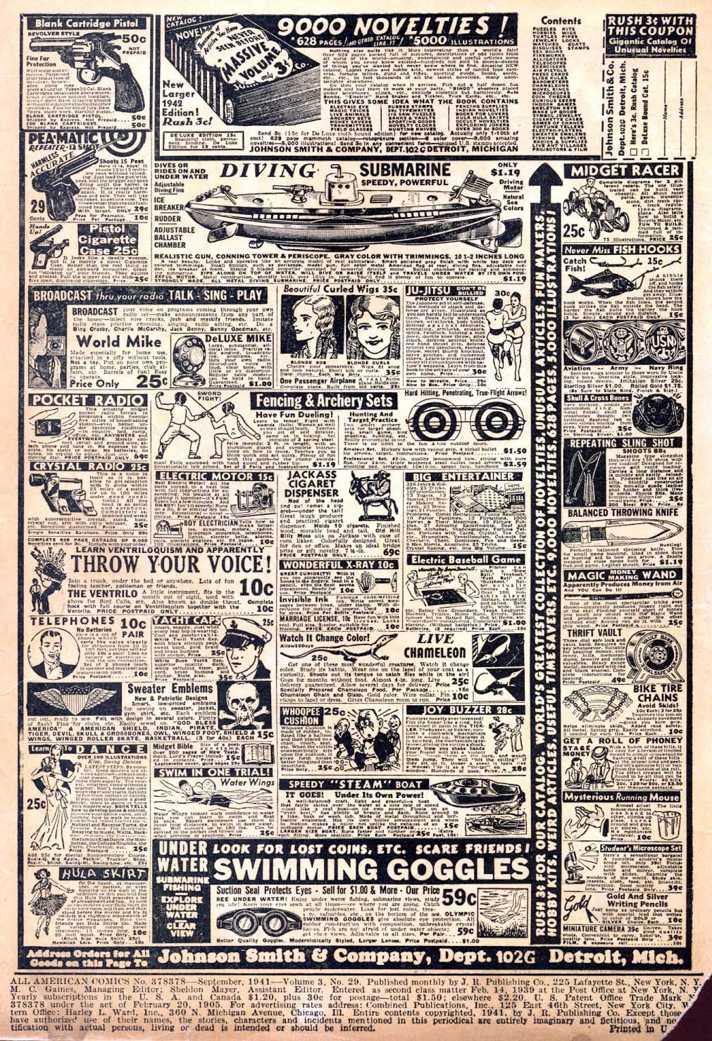 Read online All-American Comics (1939) comic -  Issue #30 - 2