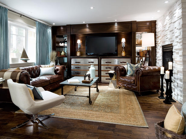 30 Distressed Rustic Living Room Design Ideas To Inspire: Beautiful Living Rooms By Candice Olson