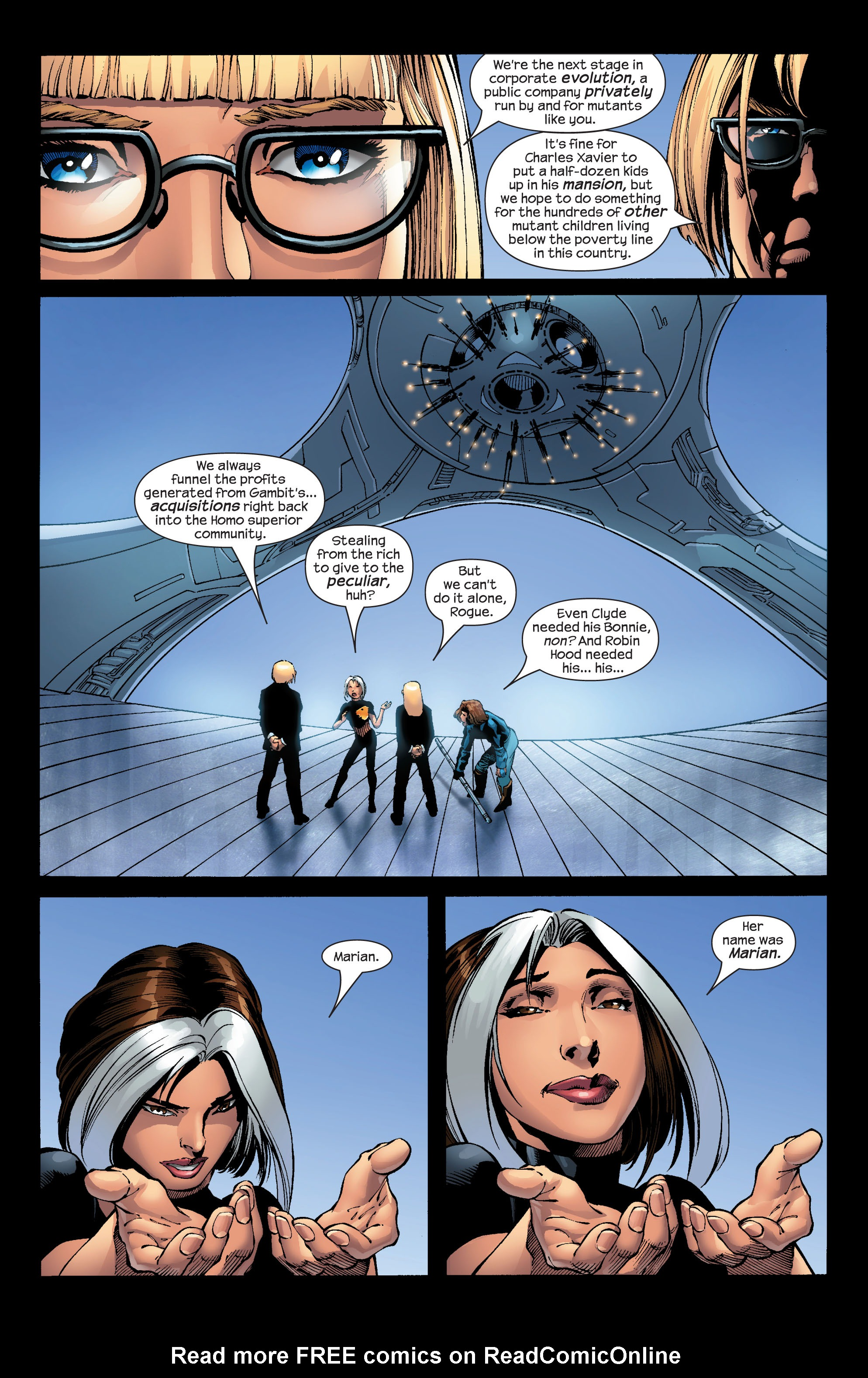 Read online Ultimate X-Men comic -  Issue #52 - 12