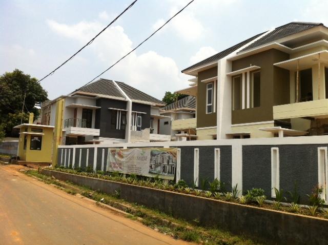 Rumah Cluster Baru dijual di Jakarta Timur lokasi dekat pintu Tol Jagorawi