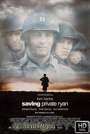 Salvar al Soldado Ryan [1998] [Latino-Castellano-Ingles] HD 1080P  [Google Drive] GloboTV