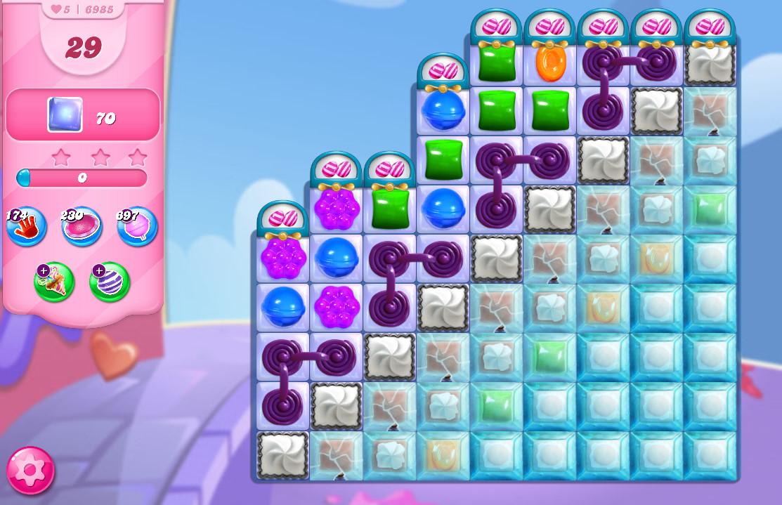 Candy Crush Saga level 6985