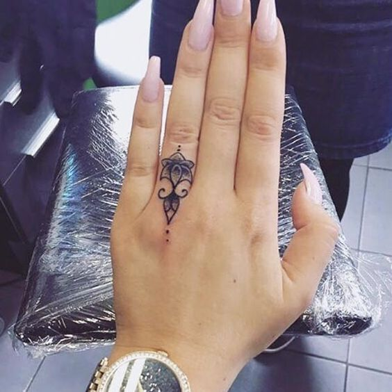 25 Modern Finger Tattoos Designs