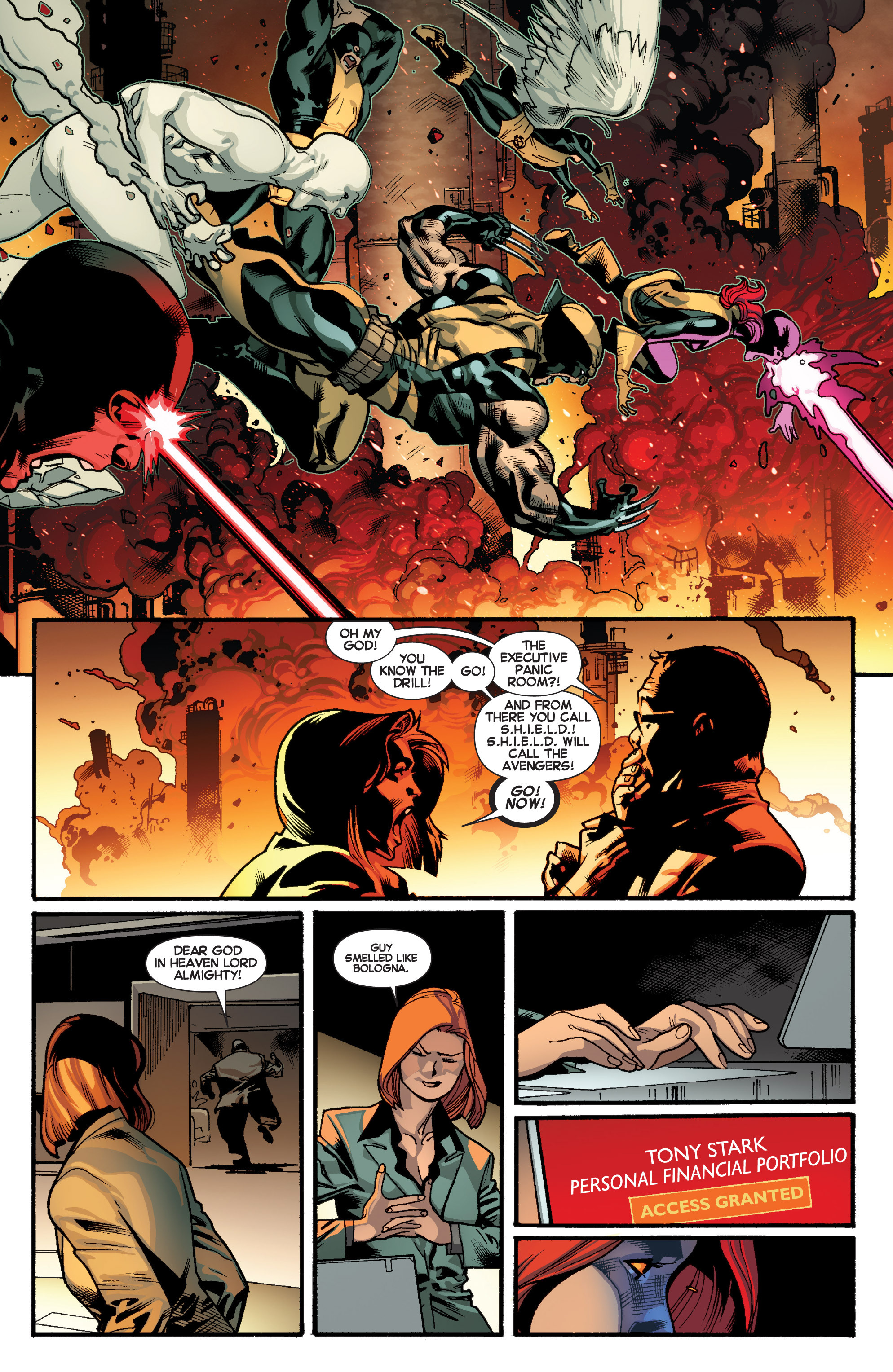 Read online All-New X-Men (2013) comic -  Issue # _Special - Out Of Their Depth - 18
