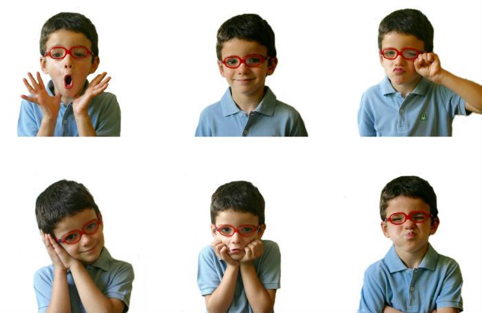 actividades y juegos para trabajar las emociones con los niños mímica emocional