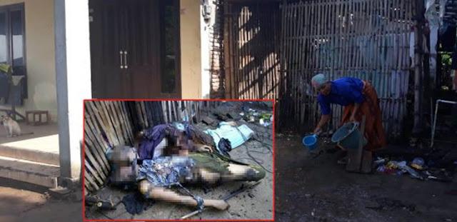 2 Warga Dibakar di Halaman Rumah, Ini Kata Pak Kades